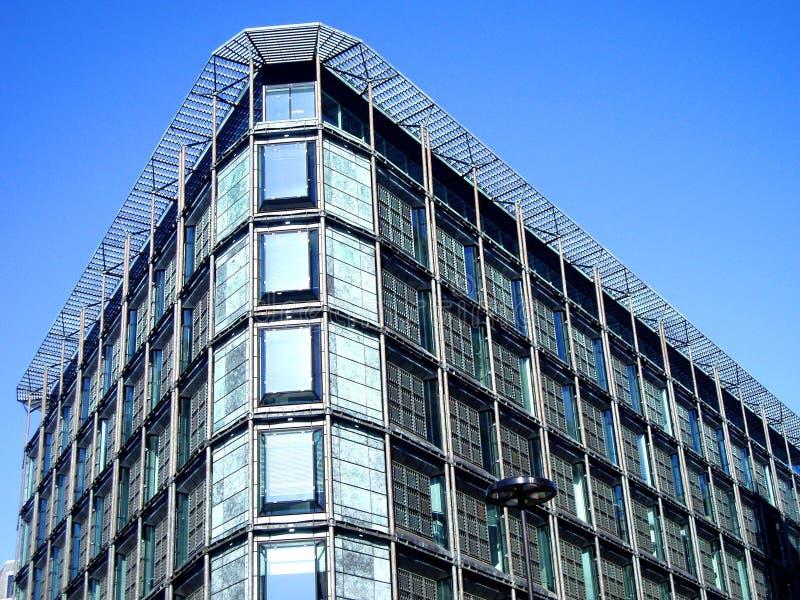 budynek stal szklana nowożytna fotografia stock