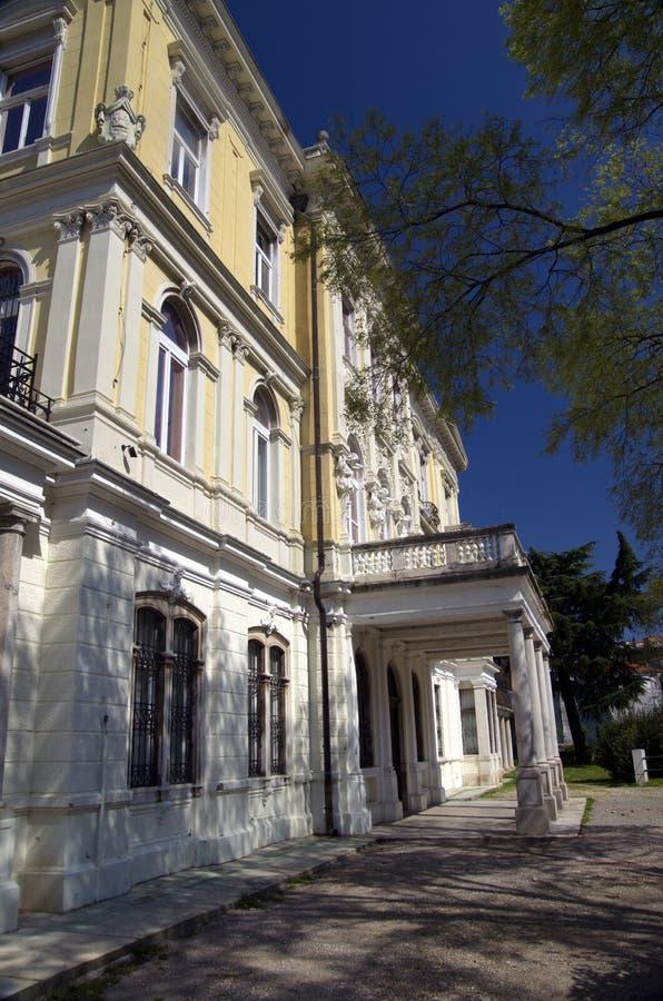 Budynek stanów archiwa w Rijeka, Chorwacja fotografia stock