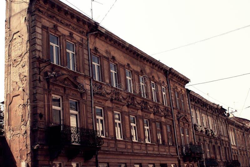 Budynek w Lviv zdjęcie stock