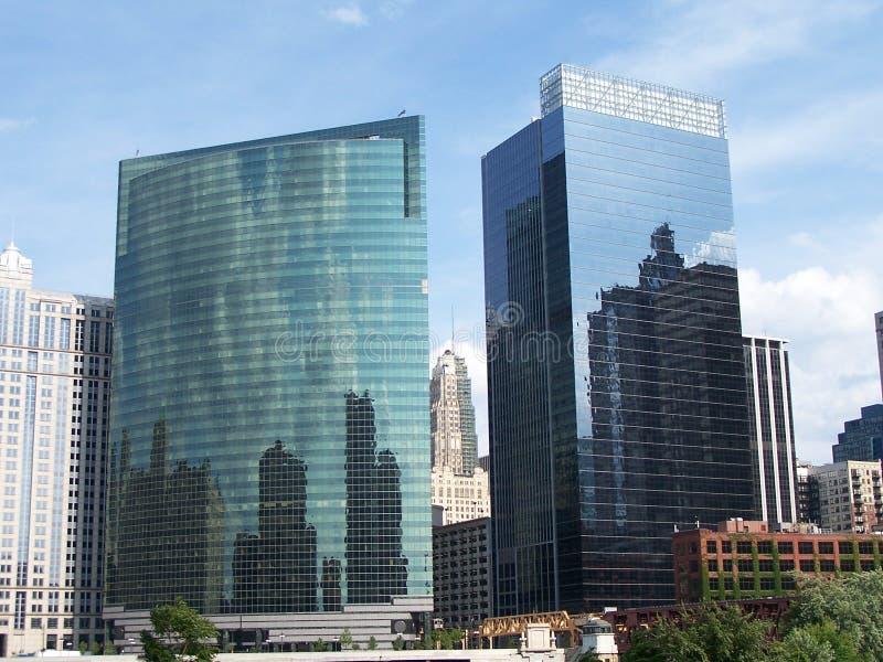 budynków Chicago biuro zdjęcia stock