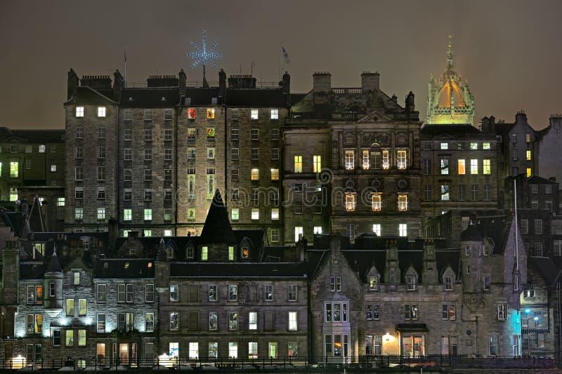 budynków Edinburgh miasteczko stary Scotland miasteczko fotografia stock