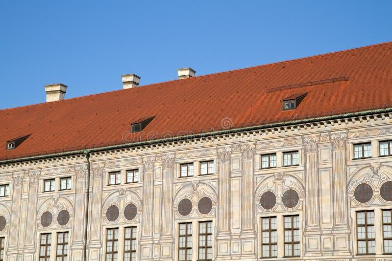 budynków Germany Munich residenz zdjęcia stock