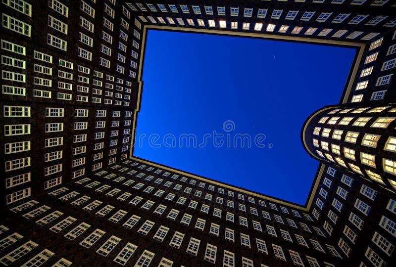 budynków Hamburg biuro zdjęcie stock