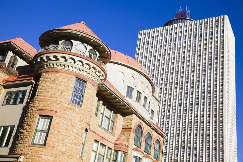 budynków Memphis nowy stary zdjęcie stock