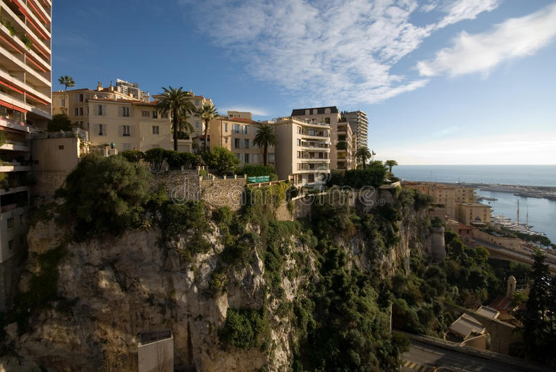 budynków mieszkaniowy Carlo monte obrazy royalty free