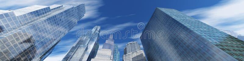 budynków wysoko nowożytny wzrost zdjęcie stock