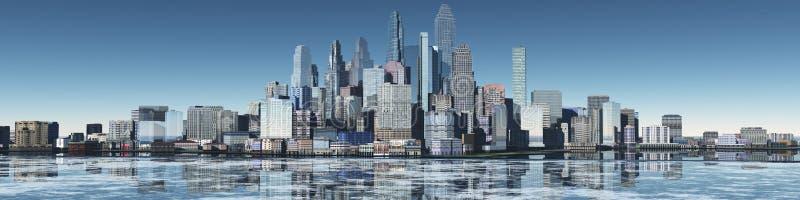 budynków wysoko nowożytny wzrost obraz royalty free