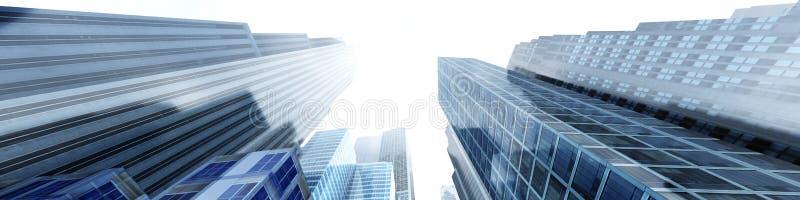 budynków wysoko nowożytny wzrost fotografia stock