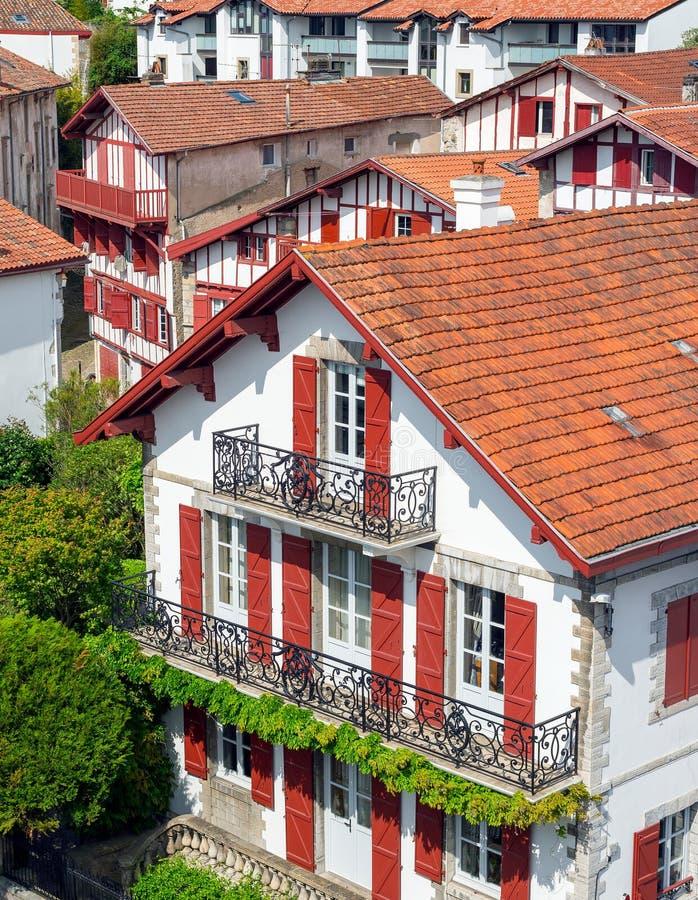 Budynki Baskijski kraj zdjęcia stock