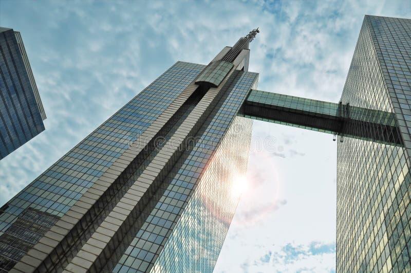 Download Budynki biurowe berlin obraz stock. Obraz złożonej z nowy - 53777639