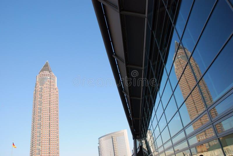 Budynki Biurowi, Frankfurt obrazy stock