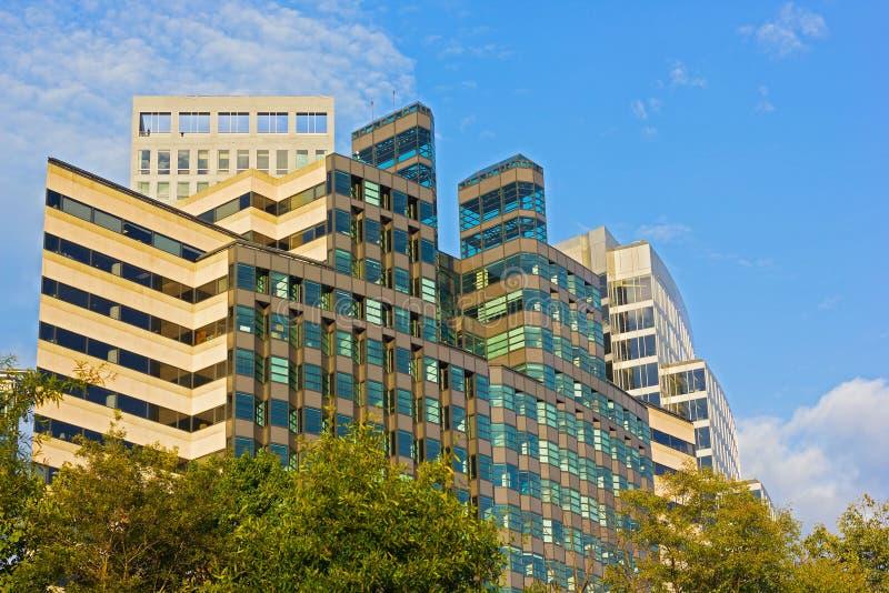 Budynki biurowi w Arlington, Virginia zdjęcie royalty free