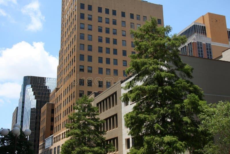 Budynki biurowi w Oklahoma zdjęcia stock
