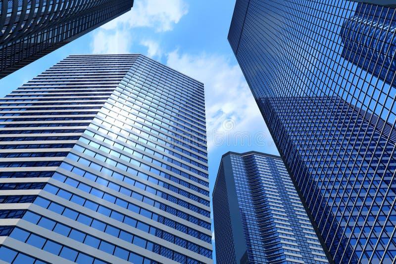 budynki biznesowi ilustracja wektor