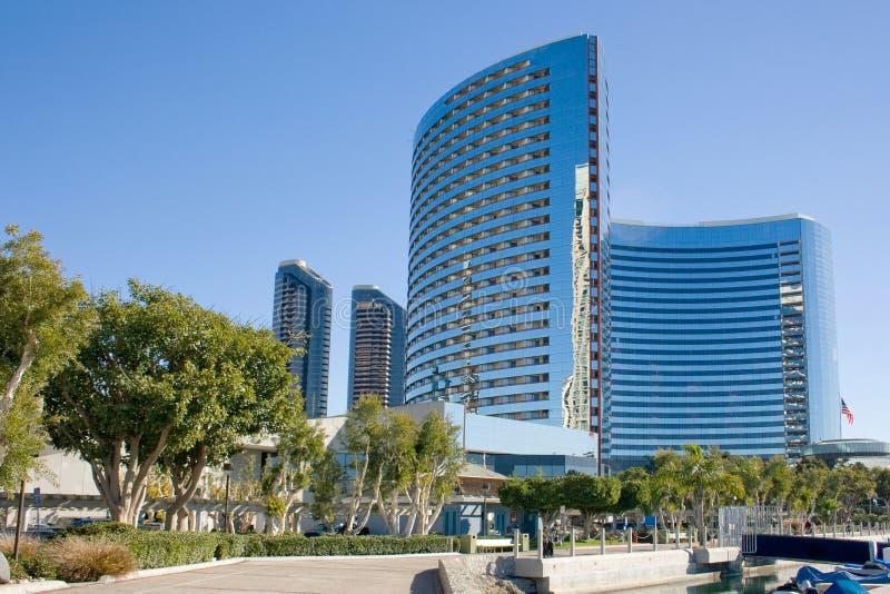 budynki Diego San zdjęcia royalty free