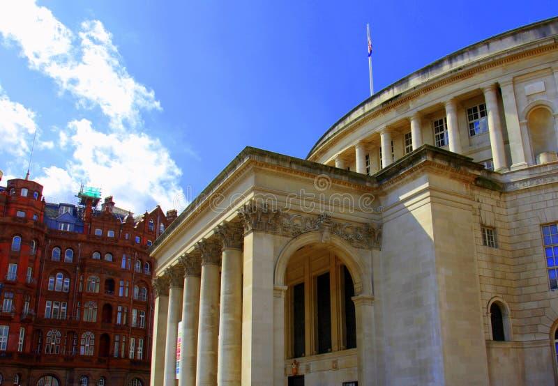 budynki historyczny Manchester obraz royalty free
