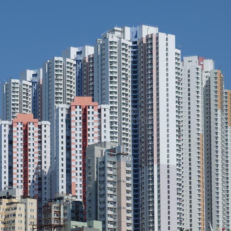 budynki Hongkong obrazy stock
