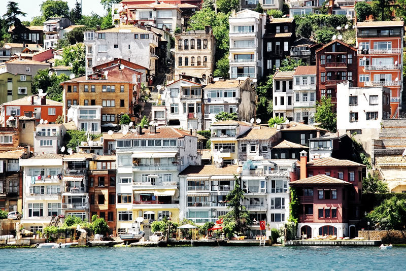 budynki Istanbul obrazy stock