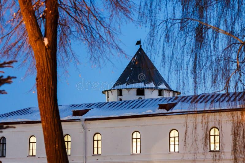 Budynki Kazan Kremlin zdjęcie royalty free