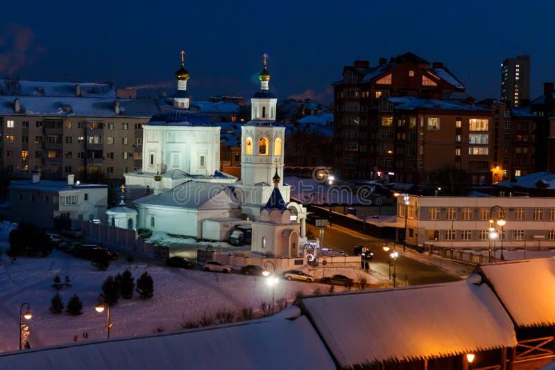 Budynki Kazan Kremlin obraz royalty free