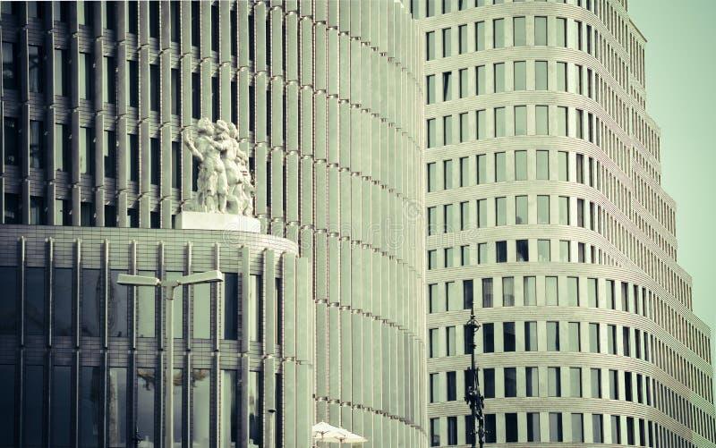 budynki korporacyjnych berlin obraz stock