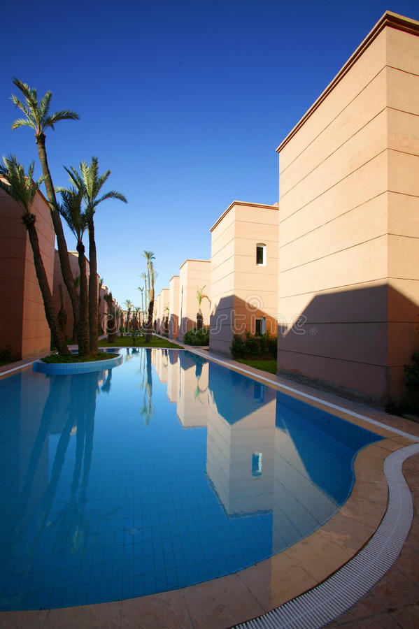 budynki Marrakesh nowy obrazy stock
