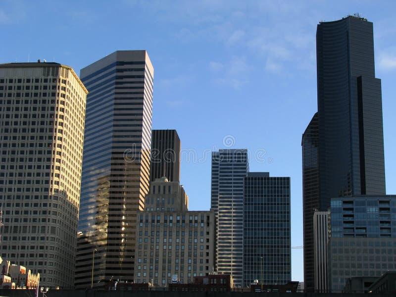 budynki miejskie najnowocześniejsze v 1 zdjęcie royalty free