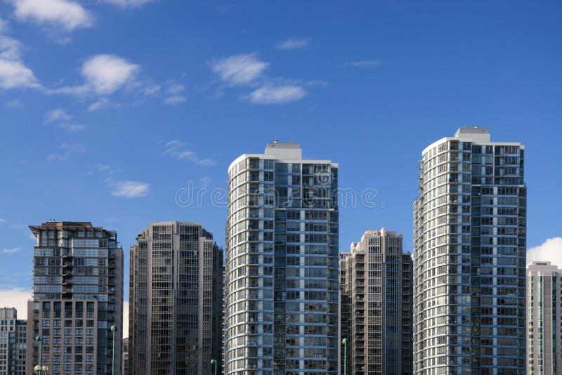 budynki mieszkalne fotografia stock