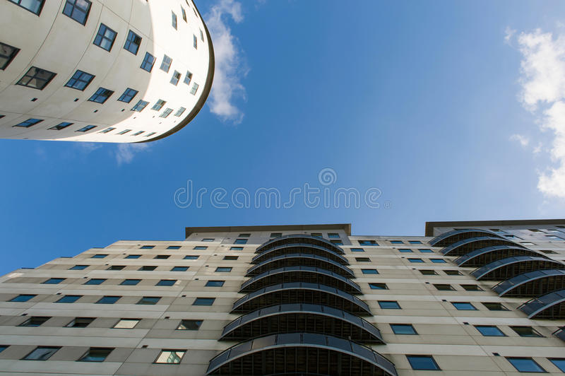Budynki mieszkalni fotografia stock