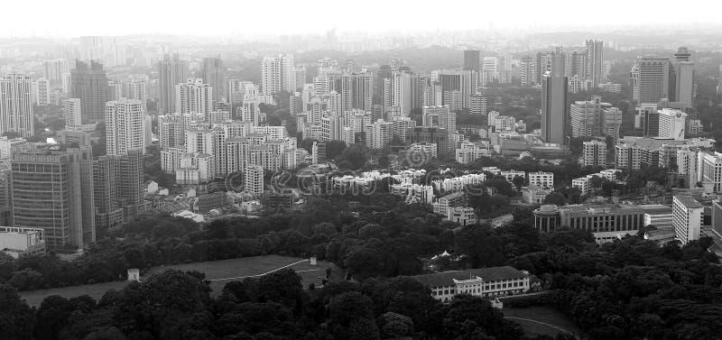 Download Budynki Singapore obraz stock. Obraz złożonej z antena - 126315