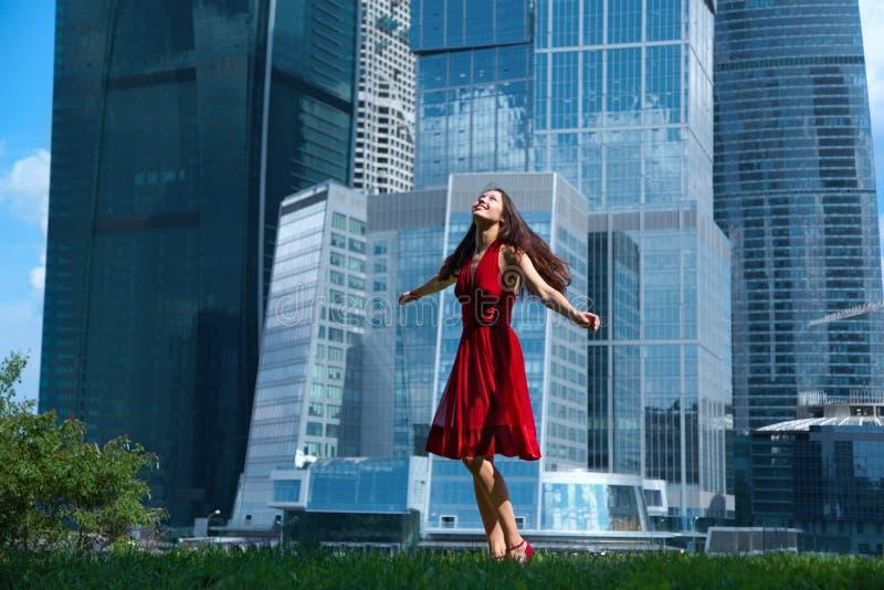 budynki szklani zdjęcie royalty free