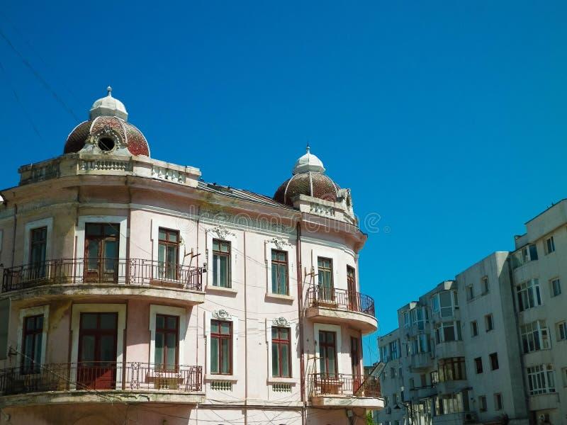 Budynki w residental terenie, Constanta, Rumunia obraz royalty free