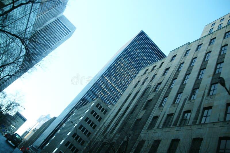 budynki ześrodkowywają miasto zdjęcia stock