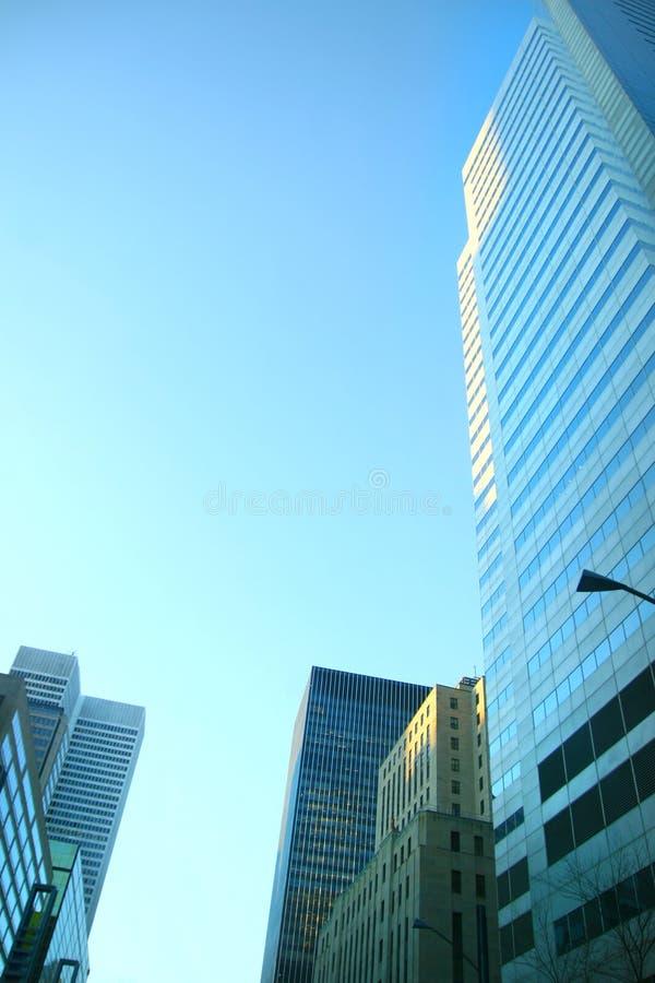 budynki ześrodkowywają miasto obrazy royalty free