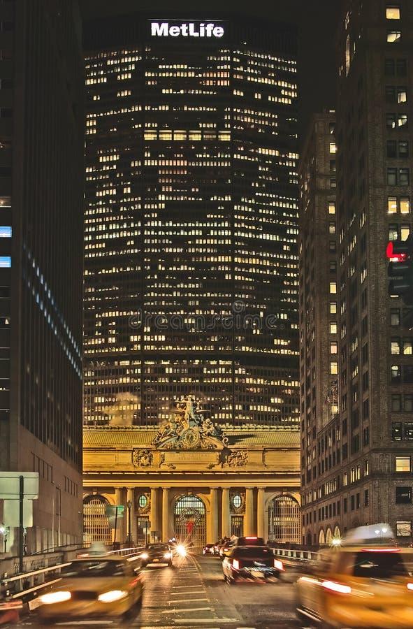 budynku życie spotykał nowego York obrazy stock