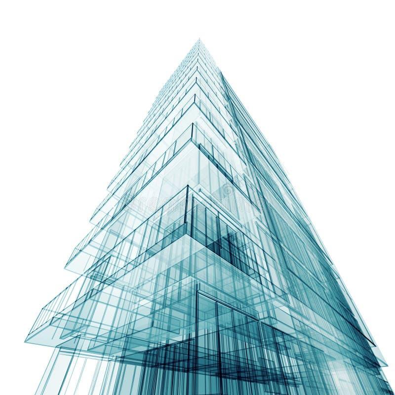 budynku abstrakcjonistyczny rówieśnik ilustracja wektor