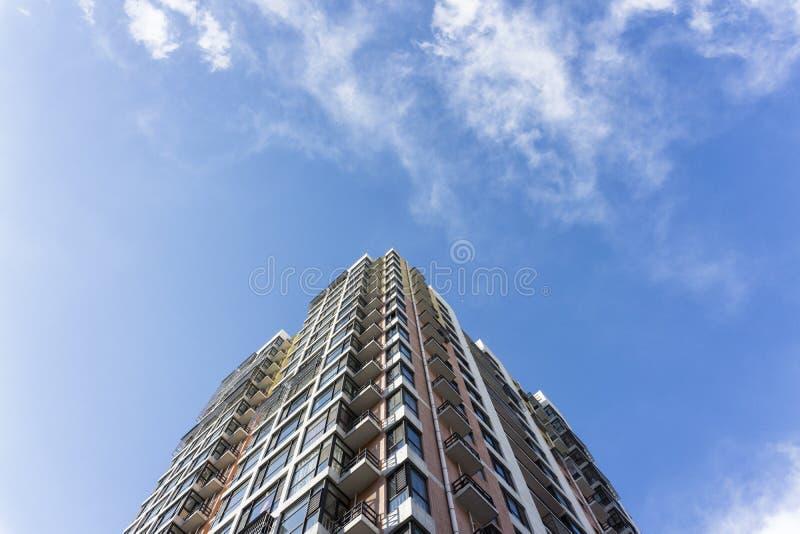 budynku abstrakcjonistyczny widok obraz stock