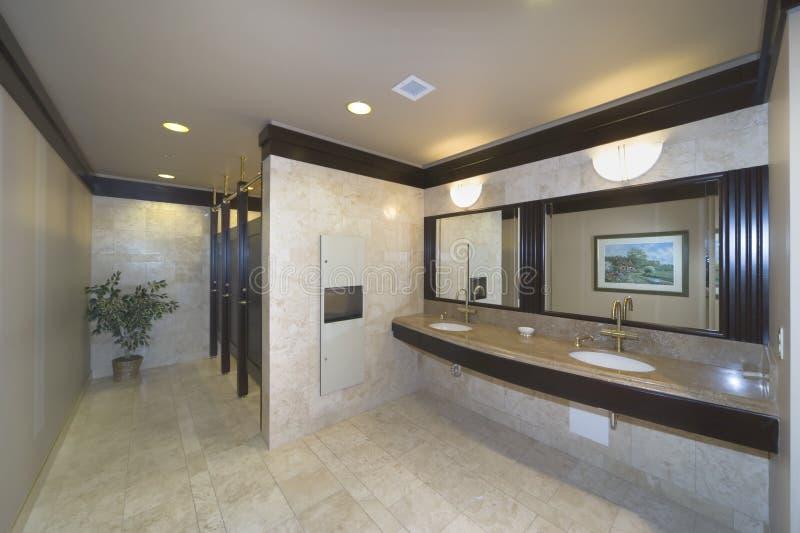 budynku biura washroom obrazy royalty free