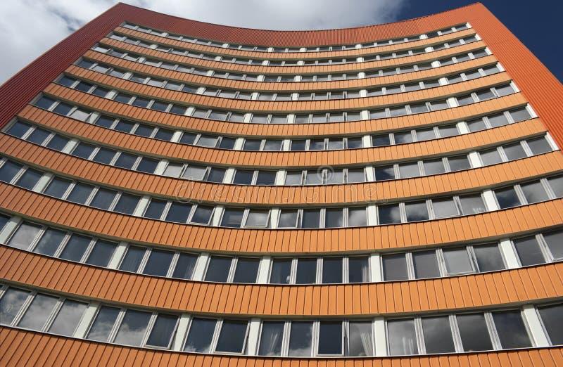 budynku biznesu pomarańcze obrazy stock