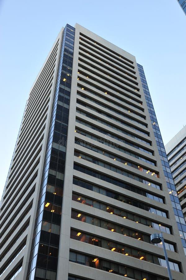 budynku Calgary biuro zdjęcie royalty free