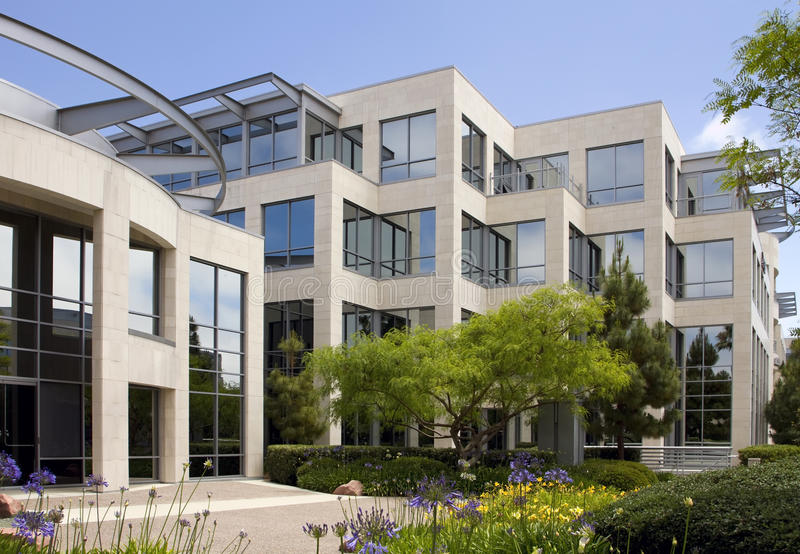 budynku California korporacyjny nowy biuro zdjęcia stock