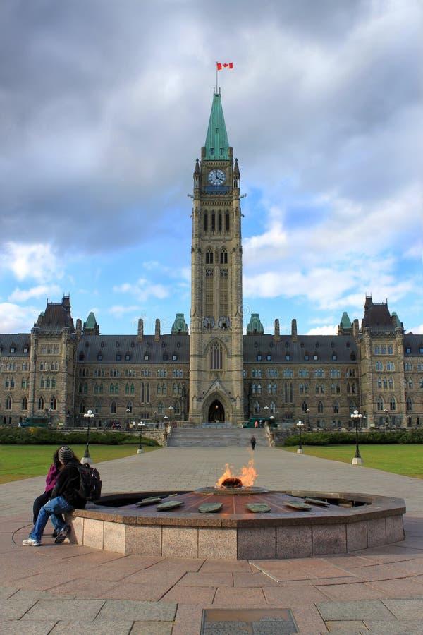 budynku Canada Ottawa parlament obrazy royalty free