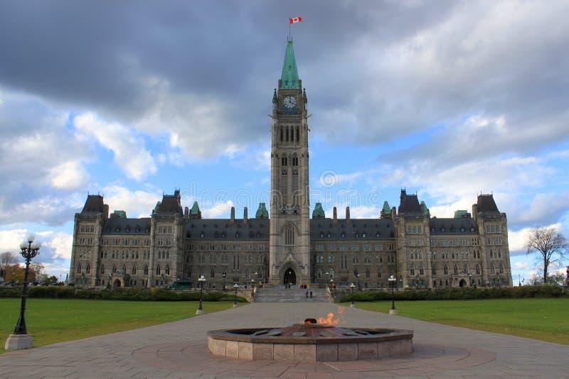 budynku Canada Ottawa parlament obraz royalty free