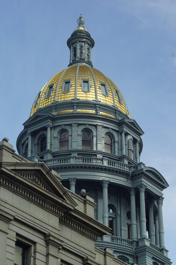 budynku capitol Colorado Denver stan fotografia royalty free