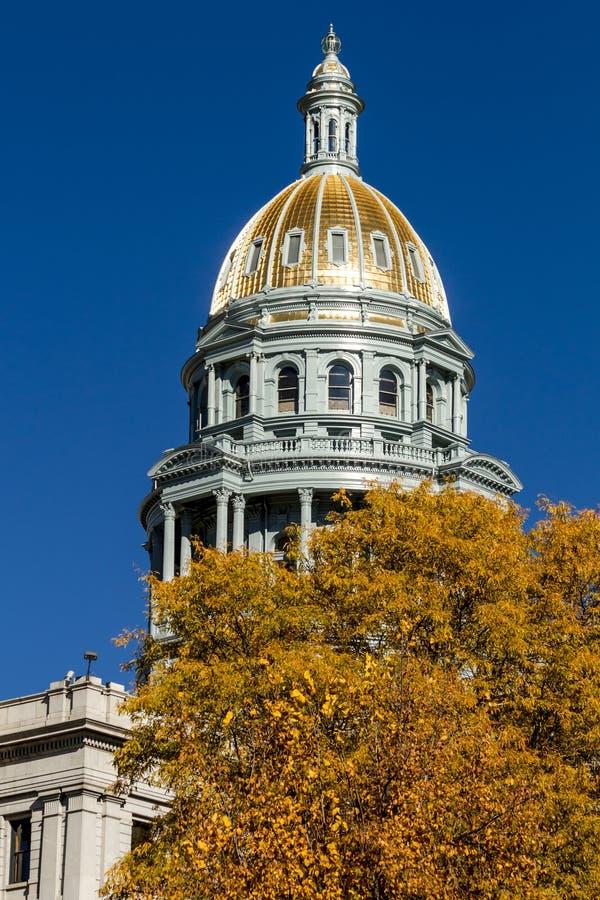 budynku capitol Colorado Denver stan obraz stock