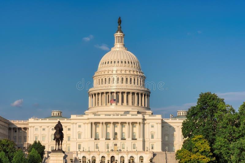 budynku capitol dc stan zlany Washington obrazy stock