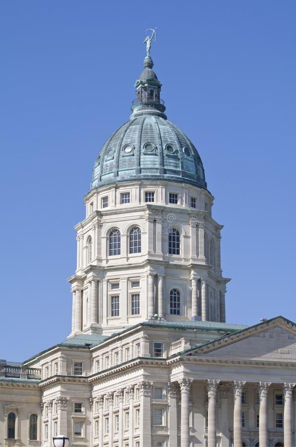 budynku capitol Kansas stan obrazy royalty free