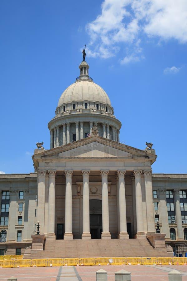 budynku capitol miasta Oklahoma stan zdjęcie royalty free