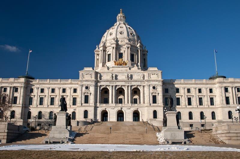 budynku capitol Minnesota stan zdjęcia royalty free