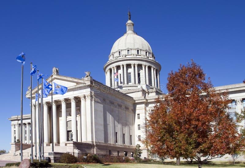 budynku capitol Oklahoma stan zdjęcia royalty free